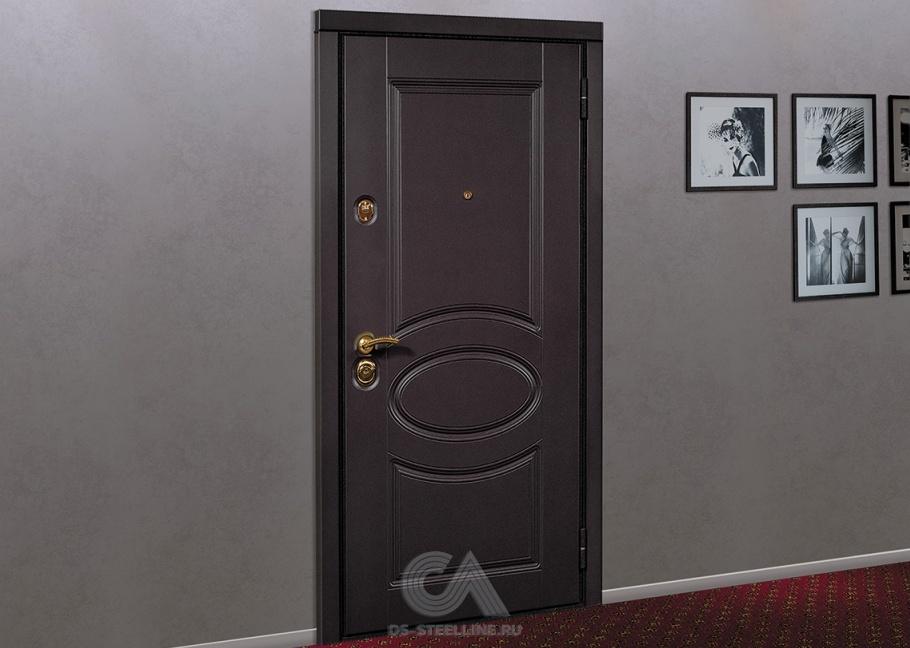 входные двери и снаружи и внутри металлические в квартиру цены